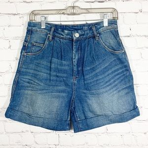 Blank NYC jean shorts super hi rise
